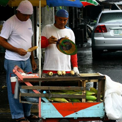 quezon city corn vendor