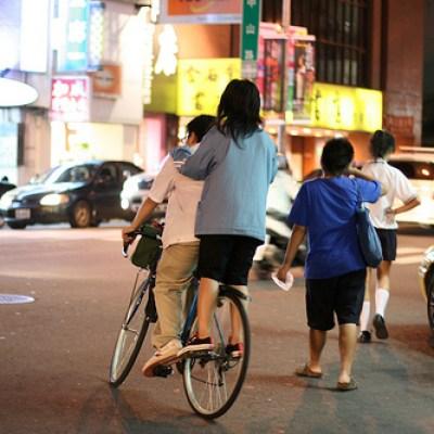two on a bike