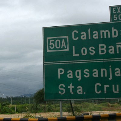 road sign