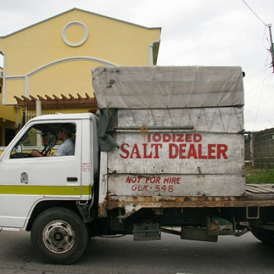 iodized salt dealer truck