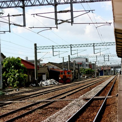 lung tien train station