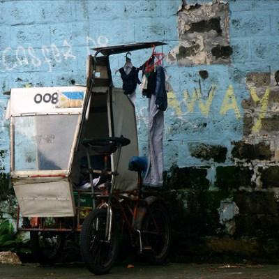pedicab still life