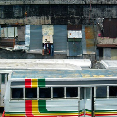 Recto bus parking lot