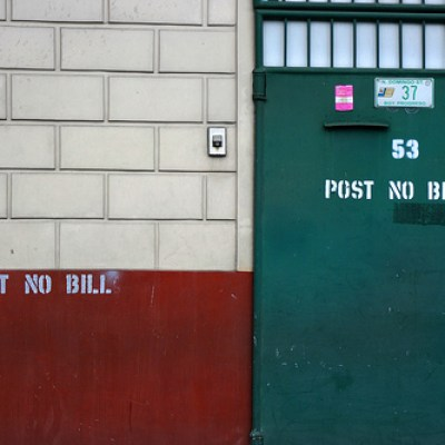 Post No Bill