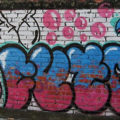 bubbly graffiti