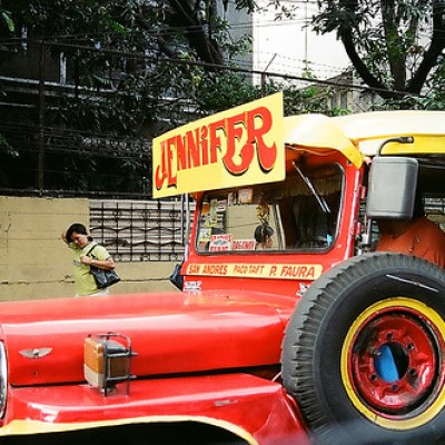 a jeepney named jennifer