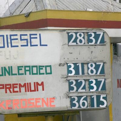 diesel and kerosene prices