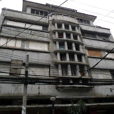 concrete building on mabini street