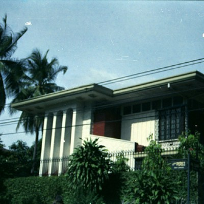 old house near Quezon Avenue