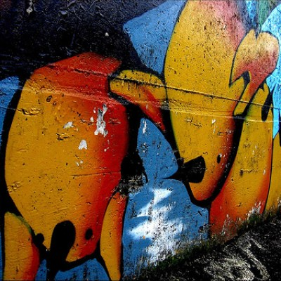 orange taipei graffiti