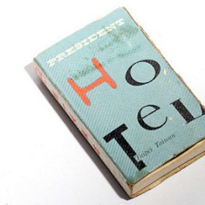 50 vintage matchbooks