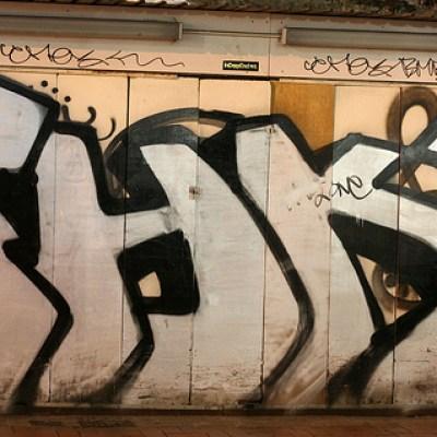Causeway Bay graffiti