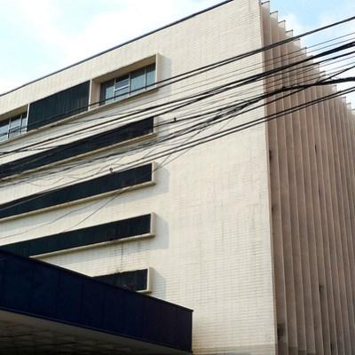 concrete building- college