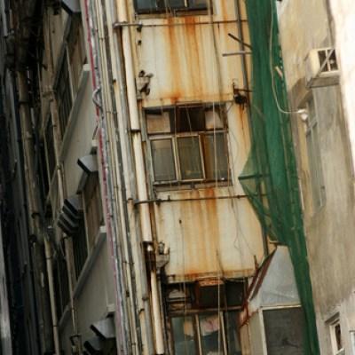 rusty Hong Kong building