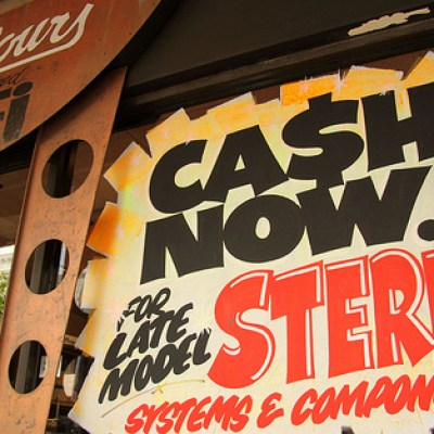 cash now for stereo