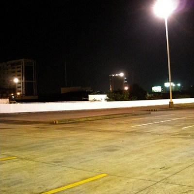supermarket parking lot