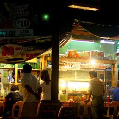 San Juan store at night