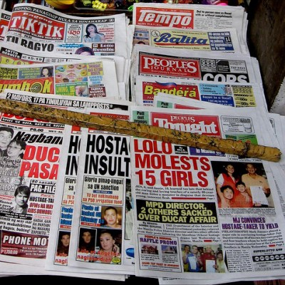 lurid tabloid headlines