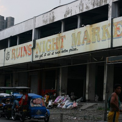 ruins night market