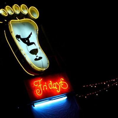 neon foot