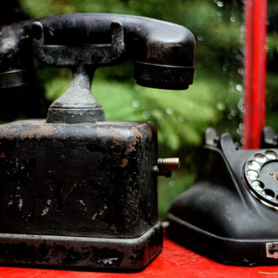 old style phones