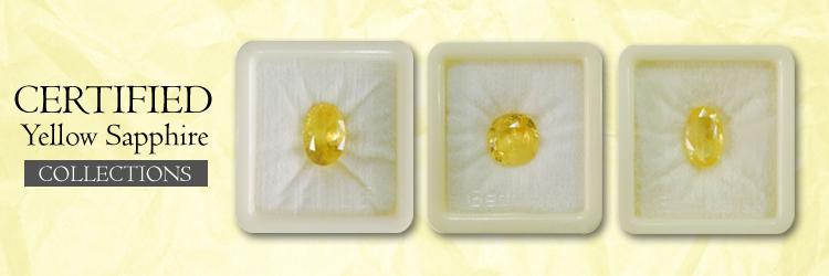 Yellow Sapphire Gemstone (Pukhraj)
