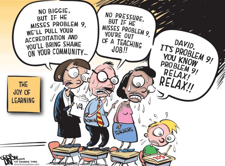 Teacher Evaluation Nightmare! Forum \u2013 Tuesday, April 17 at 530 PM