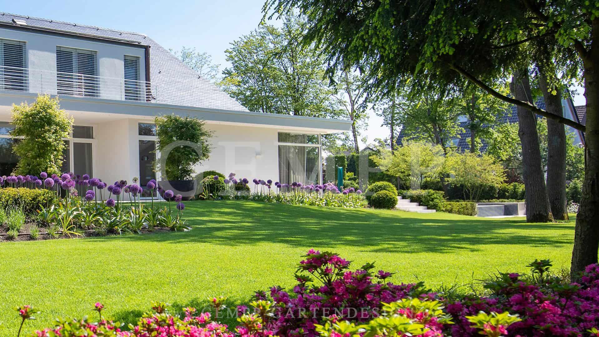 Moderne Gartengestaltung Exklusiver Moderne Gärten Gestalten