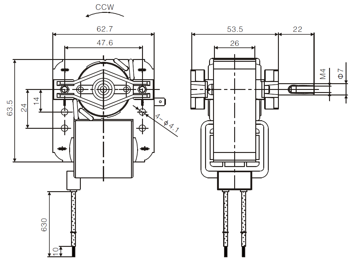 120 230 motor wiring diagram