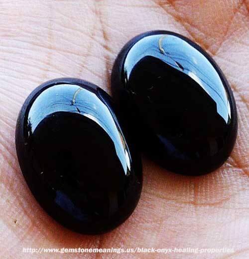 Marble Onyx Meaning : Black onyx healing properties gemstone meanings
