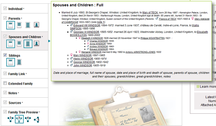 Build Your GeneaNet Family Tree Template - Geneanet - build family tree online