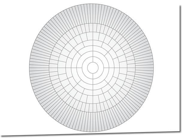 circle map template