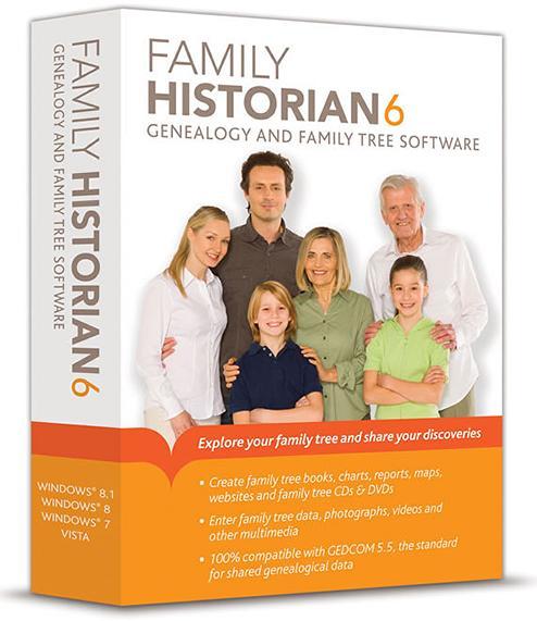 Family Historian 6 - SN Genealogy Supplies