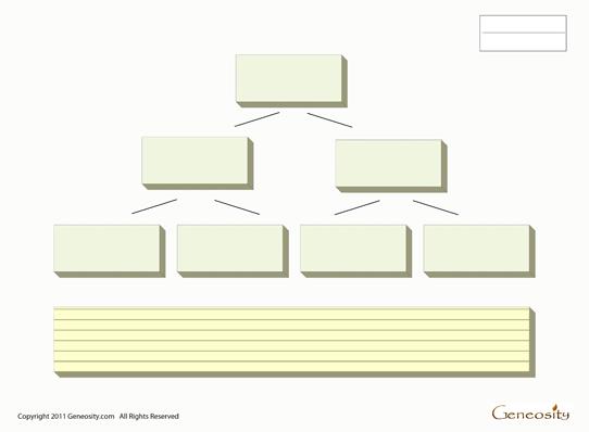 Blank Family Tree Form