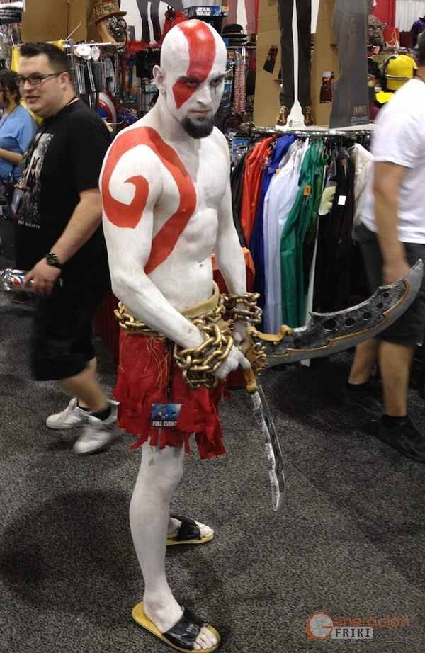 Disfraz Libro El Cosplay De La Semana: Disfraz De Kratos, De God Of War
