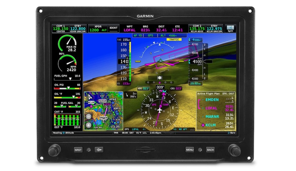 New Features Added To Garmin G3x Touch And G5 - Ei Electronics Ei 650