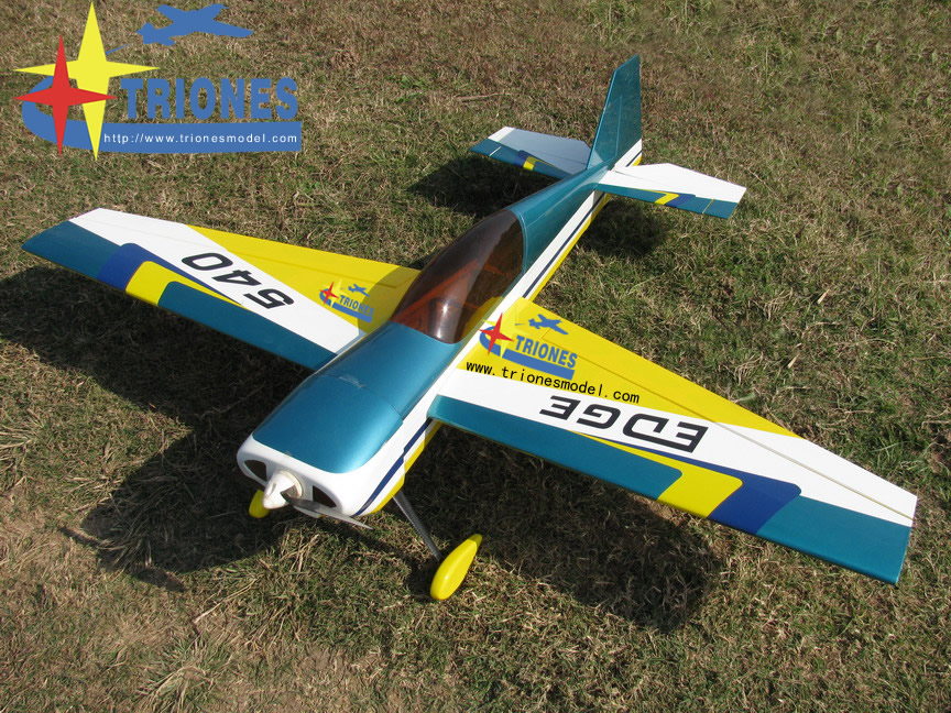Light Planes Edge 540 49'' 3d Electric Rc Airplane Arf - General Hobby