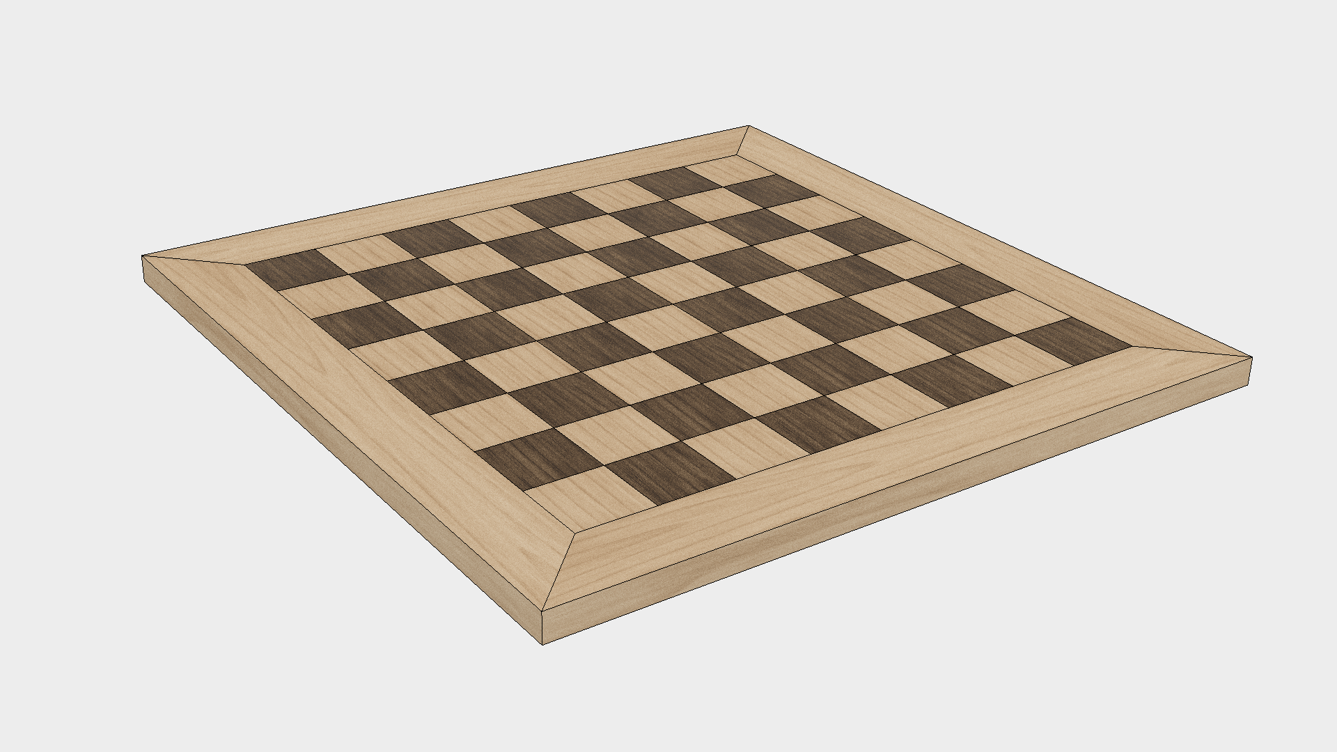 Diy Wood Chess Board Woodworking Project How To Make A Wood Chess Board
