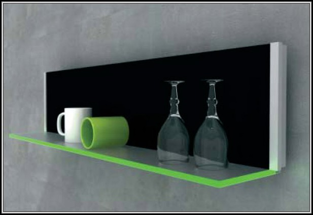 Ikea Glasregal Grundtal Glas Wandregal. Trendy Wandregal Schwarzes Glas Von
