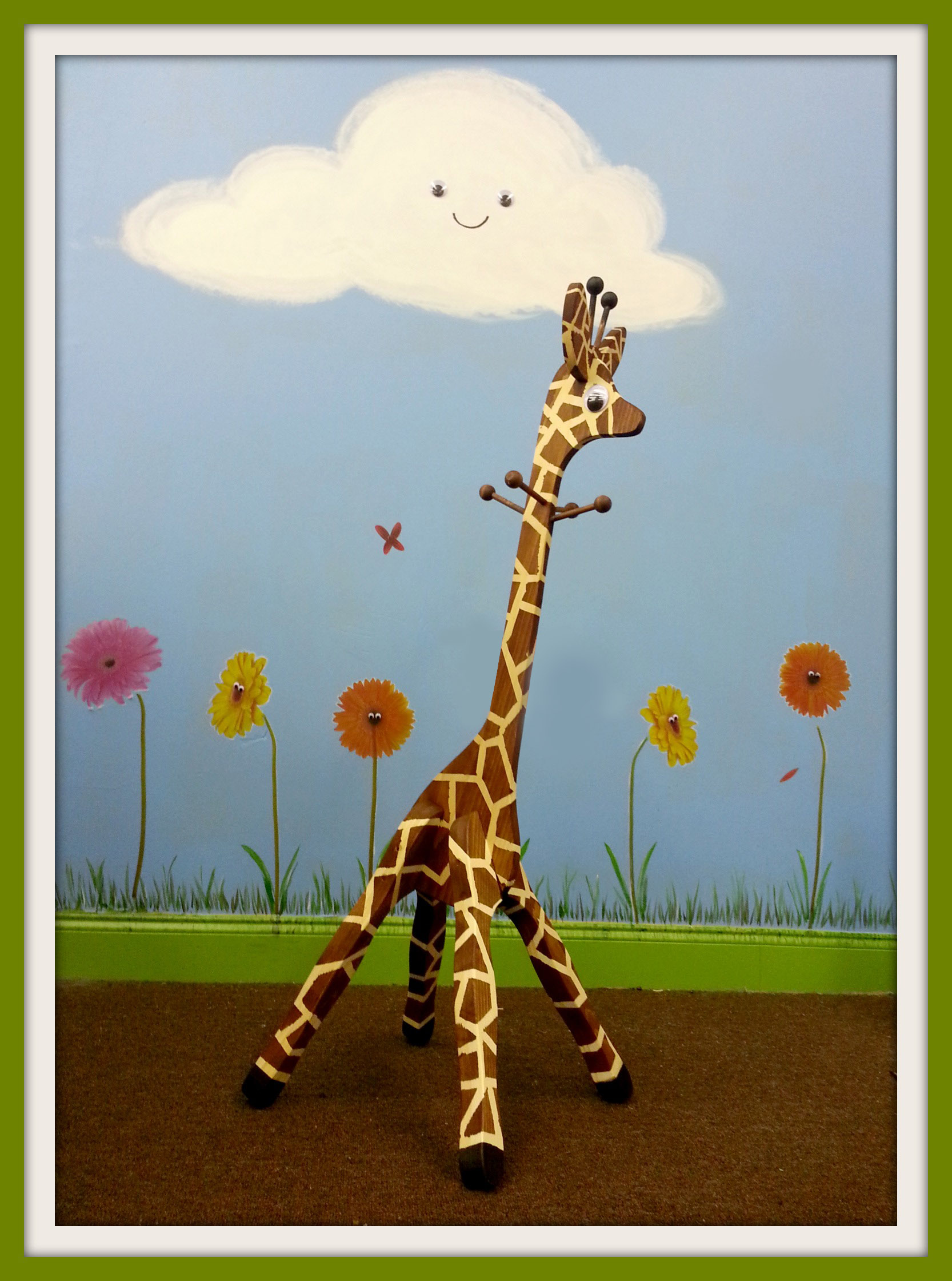 Home Goods Bar Stools Giraffe Coat Rack | Generations Home Furnishings