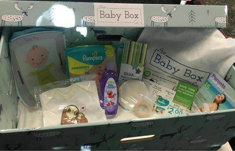 How to get a baby box!