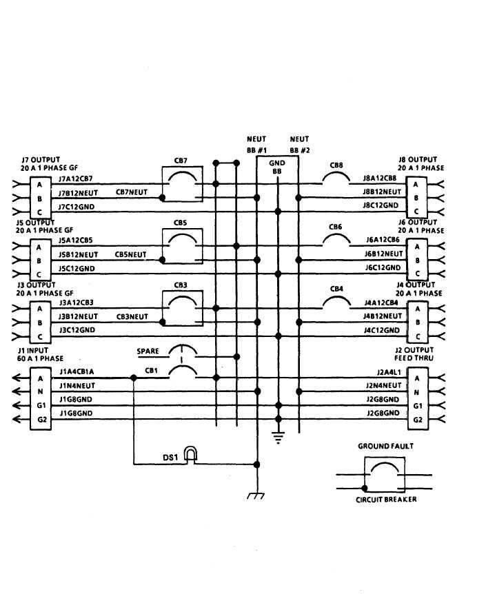 load center wiring diagram