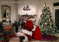 Santa in your Living Room photo deal- Proof Santa exists ...