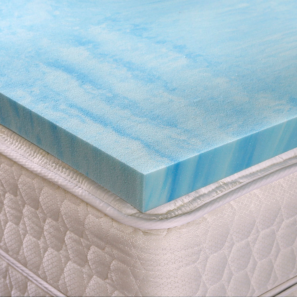 Memory Foam Mattress Toppers Gel Visco Memory Foam Mattress Pads