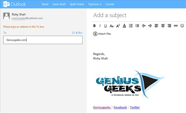 How to Add Signature in Outlook Email Tutorial