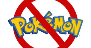 Restricted area for Pokemon. Restriction, no entry symbol over w