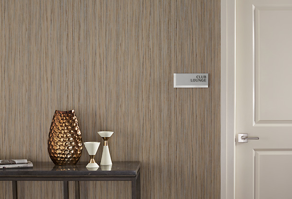 Metal Wall Covering Genon Wallcovering
