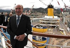 """Foschi e la riscossa di Costa Crociere """"Prenotazioni in crescita e nuove navi"""""""