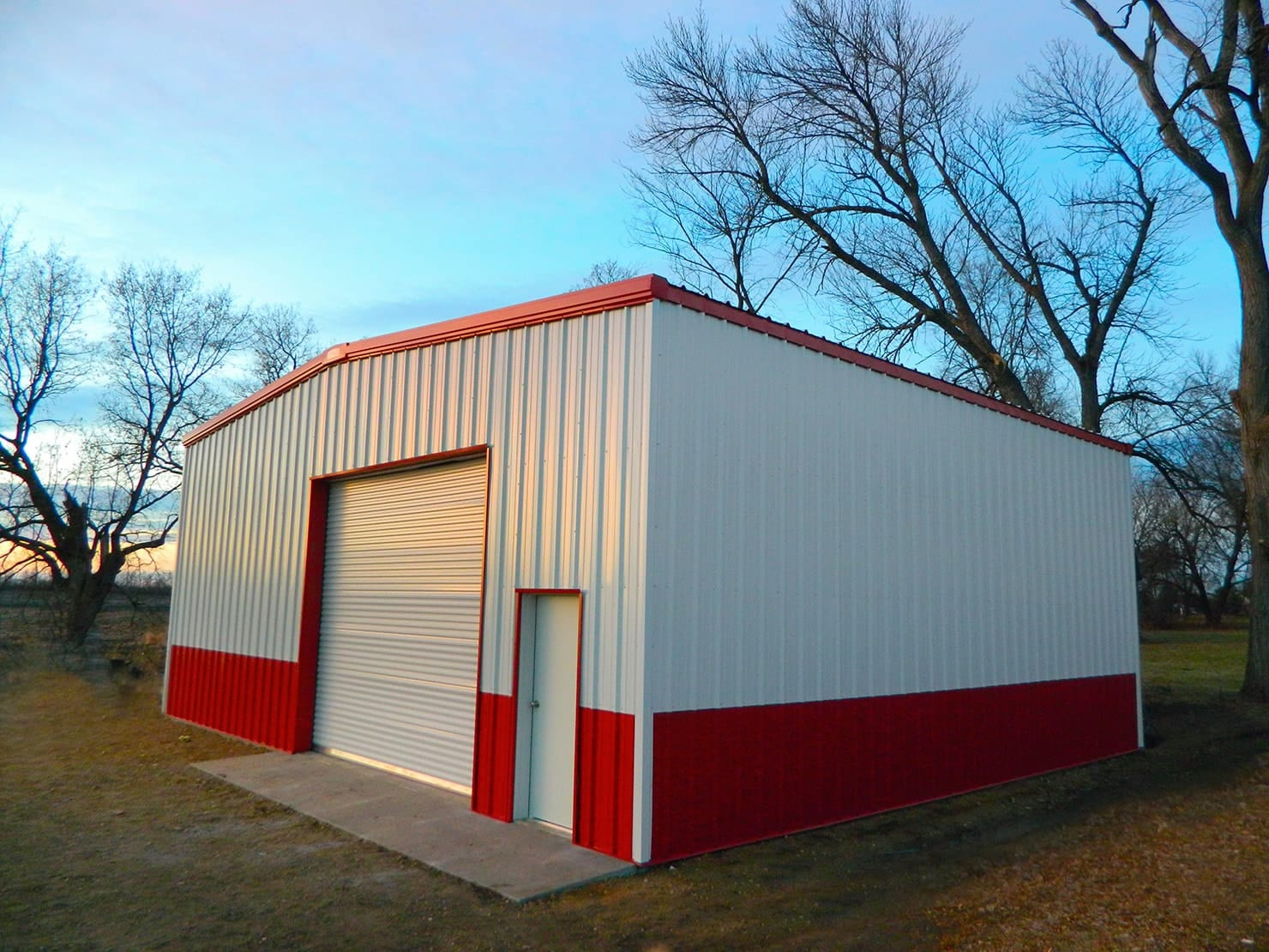Garage Builders Okc Siding Options For Metal Buildings Any Look You Want General Steel