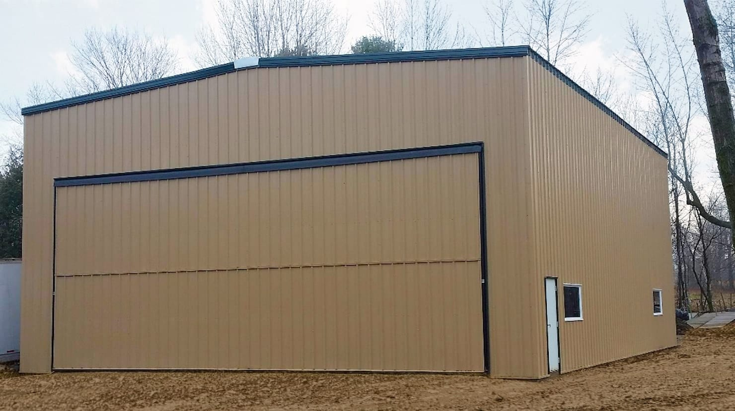 Airplane Hangar Door Kit Airplane Hangar Buildings Kits Perfect For Any Size